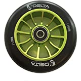 Recon 110mm Scooter Wheels | Delta Pro Scooters (Green)