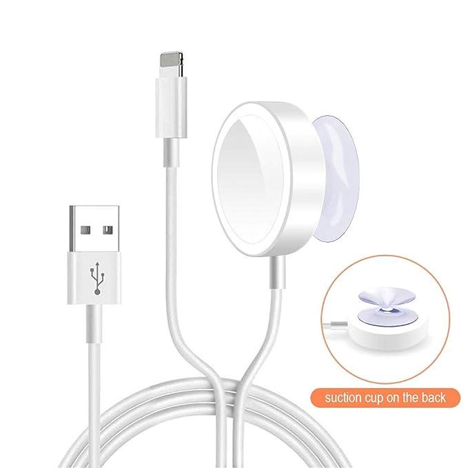 Amazon.com: WORDIMA - Cargador magnético para iWatch4/3/2/1 ...
