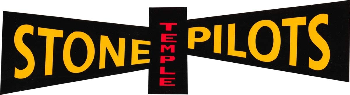 Stone Temple Pilots Large Logo Sticker / Decal
