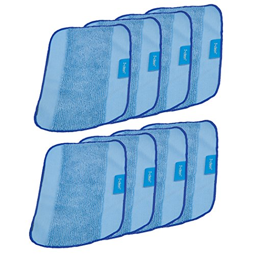 I-bath for iRobot Braava Jet Washable Mopping Pads [8 PACKS] Replacement Microfiber Mopping Cloths For Braava 380t 320 Mint 4200 5200 Robotic