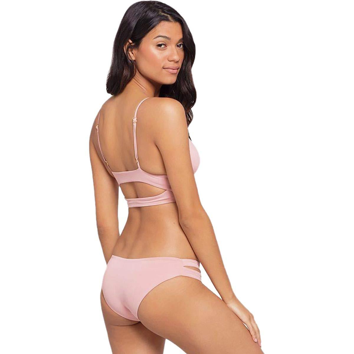 bd208ff8262ed5 Amazon.com: LSpace Women's Estella Classic Fit Cut Out Bikini Bottom:  L*Space: Clothing