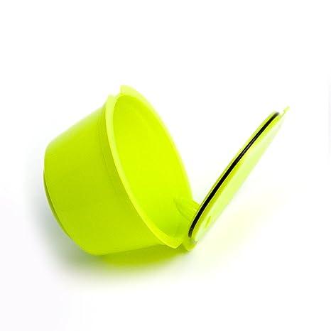 Adaptador de cápsulas rellenable para máquinas de café Nestlé Dolce