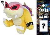 Roy Koopa: ~6'' Super Mario Bros Mini-Plush + 1 FREE Official Super Mario Bros Fun Card Bundle