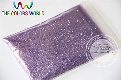 Kamas B0802A Light Purple Color Glitter powder -0.2MM glitter dust dazzling glitter powder,DIY Flash powder - (Color: 200g)