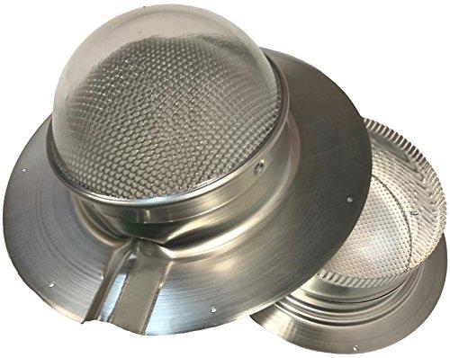 Solar LightBlaster for Metal-Roofed Sheds (Solar Tube Skylight for shed Applications) (Solar Skylights)