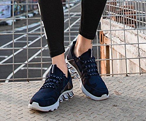 Sport 39 Jogging LFEU 44 Loisir Fitness Tissu Bleu Voyage Running Chaussure Loisir Tendance Basket Antidérapant Sport Homme de qFSzqZ