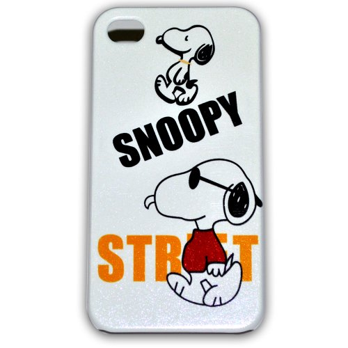 Ec00165a Snoopy Bling Iphone 4s Case Hard Case Cover for Apple Iphone4 4g/4s + Free Screen ()