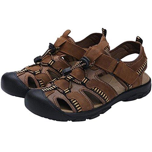Da Baotou Beach Shoes Scarpe Da Pelle Sandali Uomo Trekking Uomo MYXUA In Estiva 6 Da FwnZRT5q