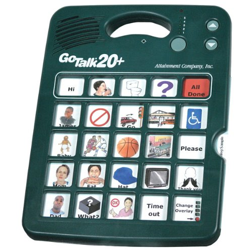 GoTalk 20-Plus with Overlay Software CD by Attainment Co