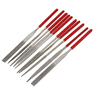 Best Brand 10pcs Combination Package Assorted Trim File Triangular File 140mm