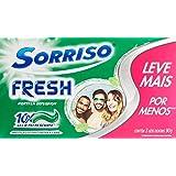 Creme Dental Sorriso Fresh Hortela Explosion 90g Promo 3 un