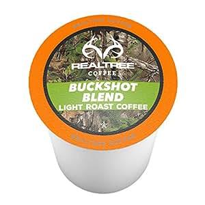 Realtree Buckshot Blend Single-Cup Coffee for Keurig K-Cup Brewers 40 Count