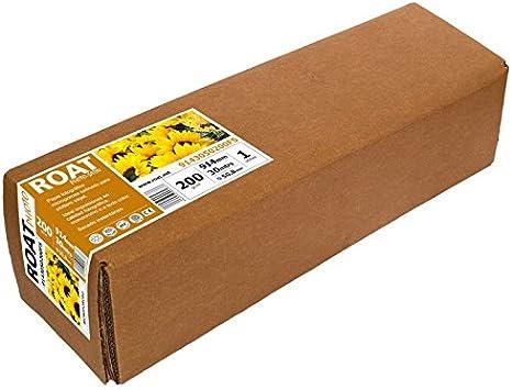 Rollo Papel Fotográfico A0 Glossy (Brillo) 200 GR, Ancho de 91,4 cms por 30 metros de largo.: Amazon.es: Oficina y papelería
