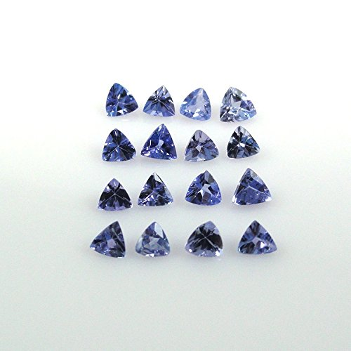 Natural Tanzanite Approximately 1.90 Carat Trillion 3mm - Ct 1.9 Natural