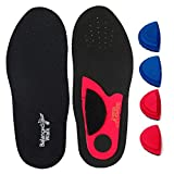 Adjustable Orthotic Arch Insole for Neutral, Fallen or High Arches for men or women