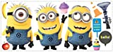 Roommates Rmk2081Gm Despicable Me 2 Minions Giant Peel And Stick Giant Wall Decals Picture