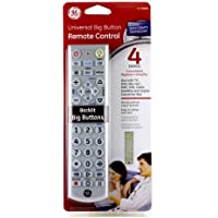 GE 24929 Universal Big Button Remote Control