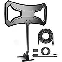 Efind 150Miles Outdoor HDTV Antenna - Long Range TV Antenna Omni-Directional with Pole Mount for 4K FM/VHF/UHF Free Channels Digital Antenna 33ft RG-6 Copper Cable