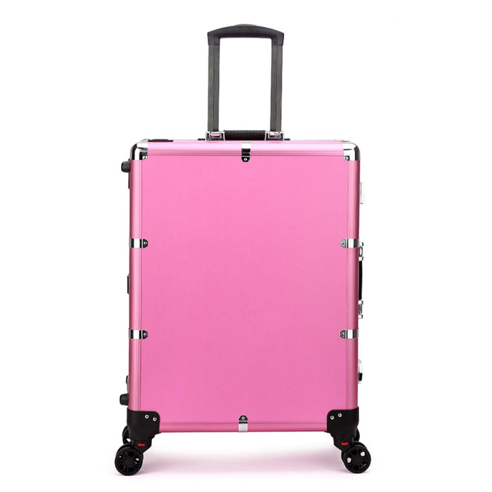 Lighted Rolling Makeup Case The Beauty Life