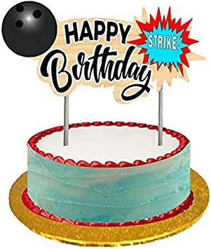 Outstanding Amazon Com Bowling Happy Birthday Cake Food Cupcake Desert Funny Birthday Cards Online Alyptdamsfinfo