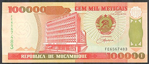 100000 Mozambican Metical Currency Rare Collection … (B07G1VXPT9) Amazon Price History, Amazon Price Tracker