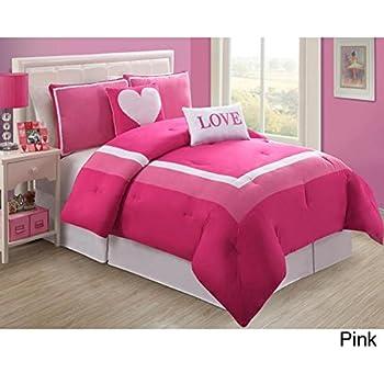 Amazon Com Modern Teen Kids Girls Comforter Bedding Set
