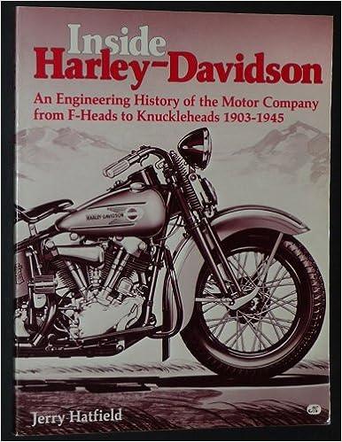 Inside Harley-Davidson, 1903-1945: Jerry H  Hatfield