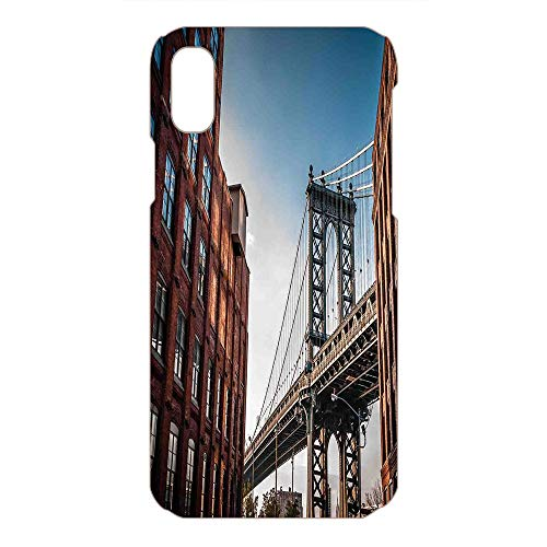 Island Personalized Mint - Phone Case Compatible 3D Printed 2018 Apple iPhone Xs MAX DIY Fashion Picture,from a Narrow Alley Island Borough Globally,Lovely Personalized Hard Plastic Phone Case Fashion Stylish