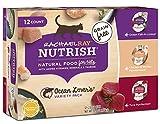 Rachael Ray Nutrish Wet Cat Food, Ocean Lovers Variety Pack, Grain Free, 2.8 oz. tub, Pack of 12