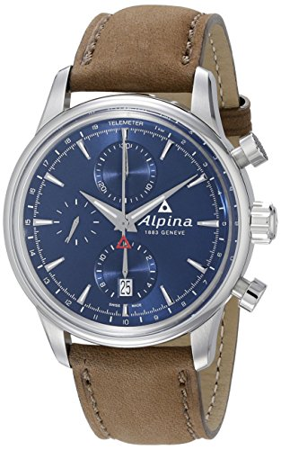 Alpina-Mens-AL-750N4E6-Alpiner-Chronograph-Analog-Display-Automatic-Self-Wind-Brown-Watch