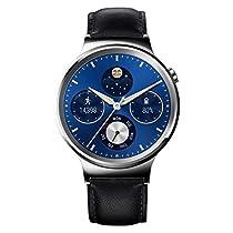 Huawei Watch Classic Smartwatch, 1.4 pollici, Cinturino in Pelle, Nero