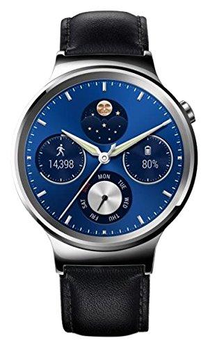 421 opinioni per Huawei Watch Classic Smartwatch , Cinturino in Pelle, Nero