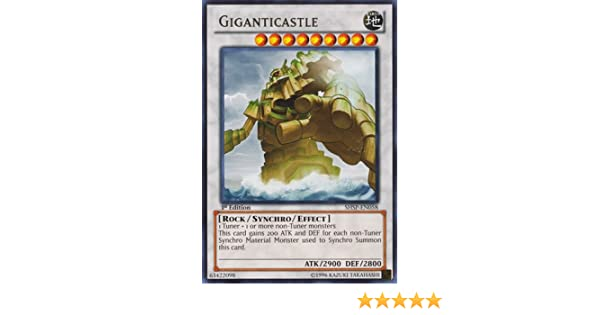 Giganticastle SHSP-EN058 Rare Yu-Gi-Oh Card 1st Edition