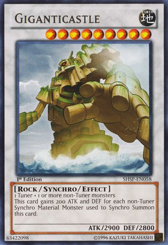 Yu-Gi-Oh! - Giganticastle (SHSP-EN058) - Shadow Specters ...
