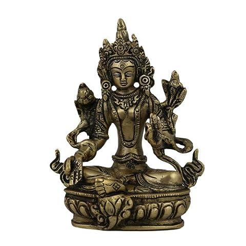 Tara Buddha, Sculpture and Statue in Brass