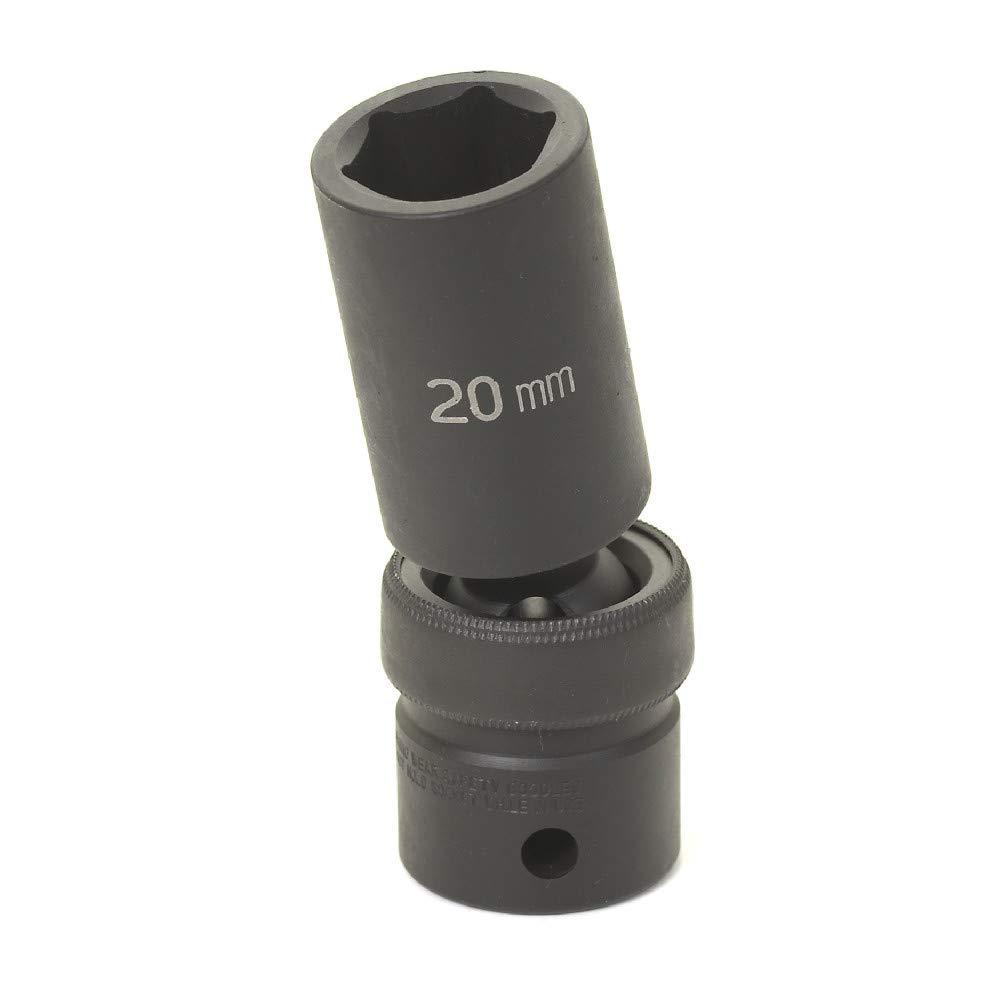 Grey Pneumatic (2024XD) 1/2' Drive x 3/4' Extra-Deep Socket