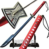 Bleach Anime Tengen Sajin Komamura Replica Sword
