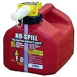 No-Spill 1415 1-1/4-Gallon Poly Gas Can