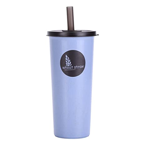 UPSTYLE trigo paja ecológico biodegradable deporte botella de agua ...