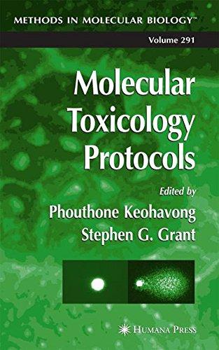 Molecular Toxicology Protocols (Methods in Molecular Biology)