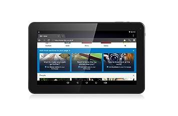 ibowin® 9 Pulgadas 1024x600 HD Resolution Tablet PC Allwinner A33 Quad Core Android PC 1G RAM 8G Memoria WIFI Bluetooth Google Play Store (Negro): ...