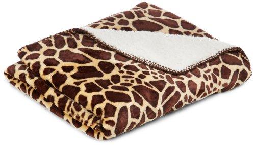 American Kennel Club Animal Pet Throw Blanket, Giraffe