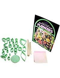 Purchase 32 Piece Sugarcraft set includes cutter, guides, tools - By Kurtzy TM deliver