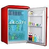 Galanz GLR44RDER Retro Compact Refrigerator, Single