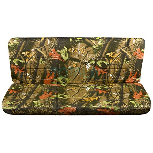 Cab Rear Seat - 1997-2003 Ford F-150 Super Cab Camo Truck Seat Covers (Rear 40/60 Split Bench): Brown Real Tree Camouflage (16 Prints) 1998 1999 2000 2001 2002 F-Series Extended F150 Back