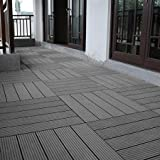 Abba Patio 12 x 12 Inch Outdoor Four Slat