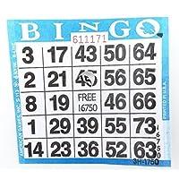 Tarjetas de Bingo de Punch-out (250 por paquete)