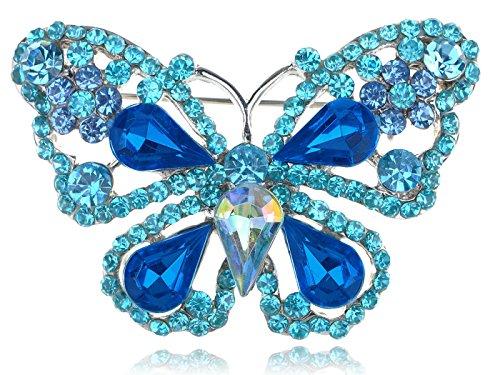 Vintage Butterfly Pin Brooch - 7