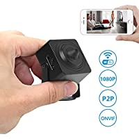 Frontpoint Security Camera,Etration Wifi Mini Camera 1080P Full HD Wireless Nanny Cam Small Home Convert Security Secret Camera with Motion Detection