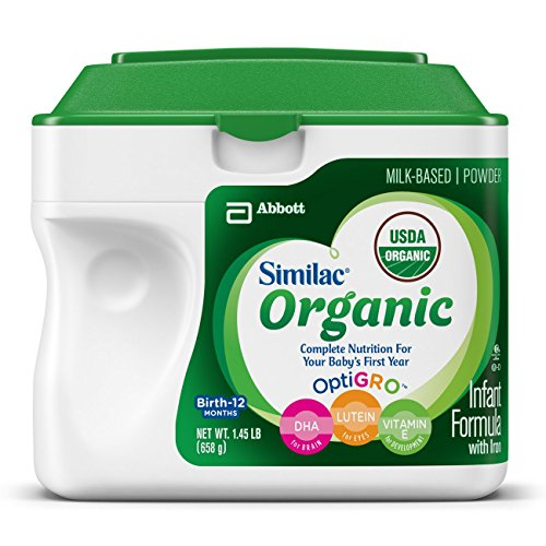 Similac Advance Organic Infant Formula with Iron, Powder, 23.2 Ounce